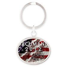 Bachmann Oval Keychain