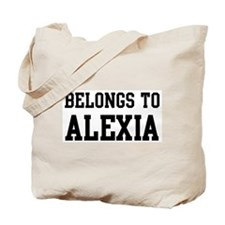 Belongs to Alexia Tote Bag