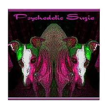 Psychedelic Suzie Tile Coaster