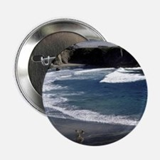 "Sand,sea themed gear,nature photograp 2.25"" Button"