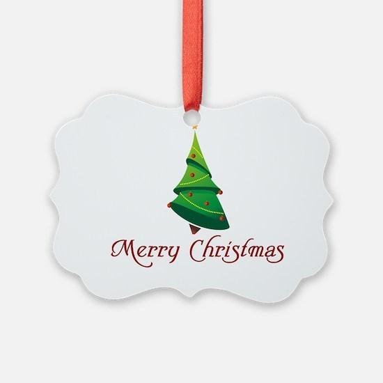 MerryChristmas Ornament