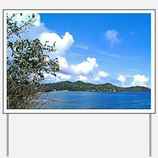 Marigot Bay in St Lucia Yard Sign