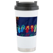 Charlotte Amalie. Shopping in t Travel Mug