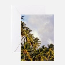 Caribbean, BWI, St. Lucia, Sailboats Greeting Card