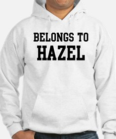 Belongs to Hazel Hoodie Sweatshirt