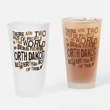 northdakota_brown Drinking Glass