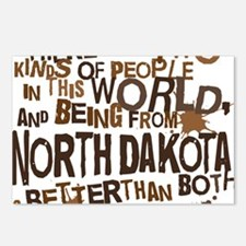 northdakota_brown Postcards (Package of 8)