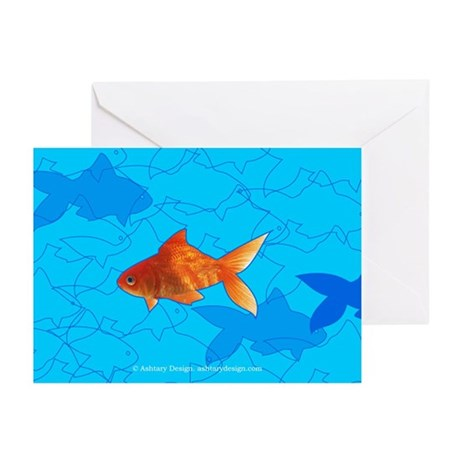card_fish Greeting Cards