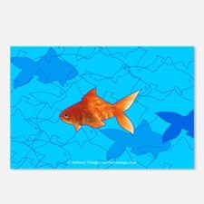 Norooz Goldfish Postcards (Package of 8)