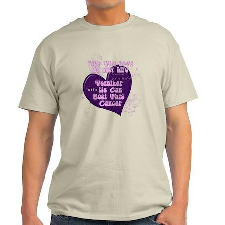 Cancer Beat it Light T-Shirt