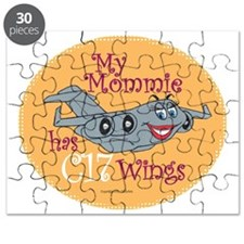 Mil 4B My Mom C17 Wings  copy Puzzle