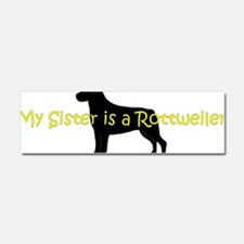 RottieSister Car Magnet 10 x 3