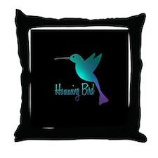 humming bird10 Throw Pillow
