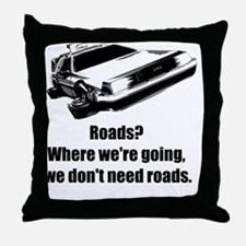 roads Throw Pillow