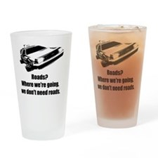 roads Drinking Glass