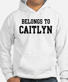 Belongs to Caitlyn Jumper Hoody