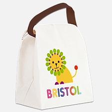 Bristol-the-lion Canvas Lunch Bag