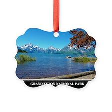 Grand Teton National Park Picture Ornament