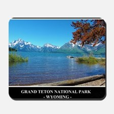 Grand Teton National Park Mousepad