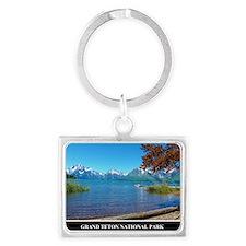 Grand Teton National Park Landscape Keychain