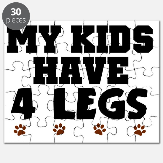 My kids have 4 legs Puzzle