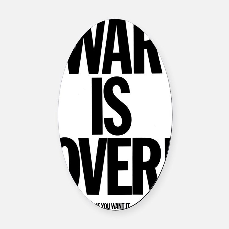 warisover Oval Car Magnet