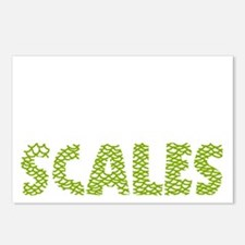 My kids have scales light Postcards (Package of 8)