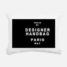 DESIGNERBEACHBAGTEMPLATE Rectangular Canvas Pillow