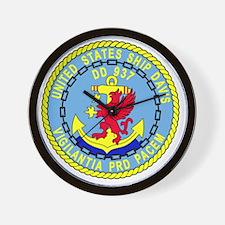 DD-937 USS DAVIS Destroyer Ship Militar Wall Clock