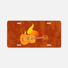shoulderGuitarHo Aluminum License Plate