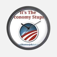 Its The Oconomy Stupid 1 Wall Clock