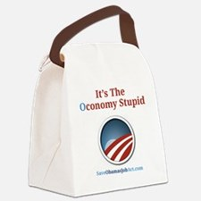 Its The Oconomy Stupid 1 Canvas Lunch Bag