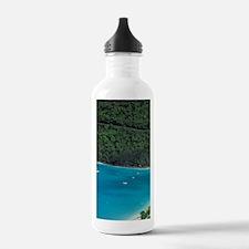 Magens Bay. Aerial vie Water Bottle