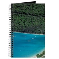 Magens Bay. Aerial view of bay and beach,  Journal