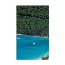 Magens Bay. Aerial view of bay Decal