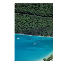 Magens Bay. Aerial view o Postcards (Package of 8)