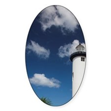 Punta Higuero Lighthouse, Rincon, W Decal