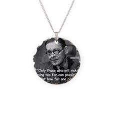 Eliot Risk Quote 2 Necklace
