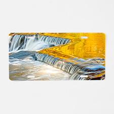 bondFalls_HDR_shoulderbag Aluminum License Plate
