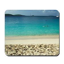 Virgin Islands National Park. Colorful b Mousepad
