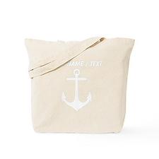 Custom Anchor Tote Bag