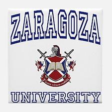 ZARAGOZA University Tile Coaster