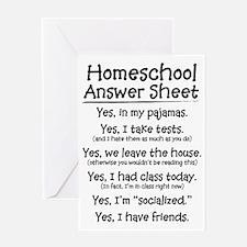 Homeschool Answers Greeting Card