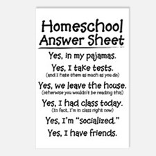 Homeschool Answers Postcards (Package of 8)