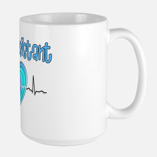 Medical Assistant QRS Blue Large Mug