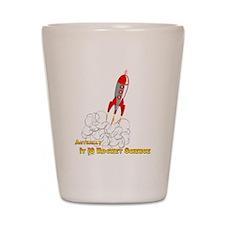 Rocket Science-edited copy Shot Glass