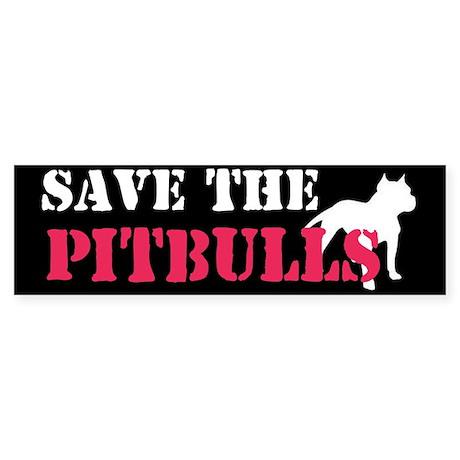 save the pitbulls!