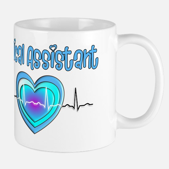 Medical Assistant QRS Blue Mug