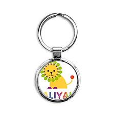 Taliyah-the-lion Round Keychain