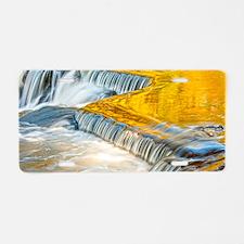 bondFalls_HDR_9X6 Aluminum License Plate